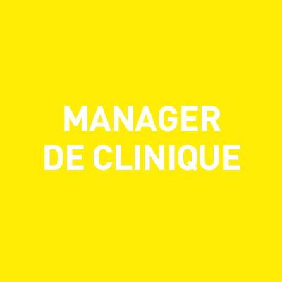Manager de clinique